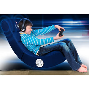 Los Angeles Dodgers Bluetooth Rocker Gaming Chair - Racer Gaming Chairs