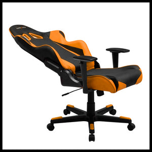 DXRacer OH/RE0/NO Black/Orange Racing Series Gaming Chair - Racer Gaming Chairs