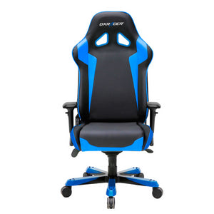 DXRacer OH/SJ00/NB Black/Blue Sentinel Series Gaming Chair - Racer Gaming Chairs
