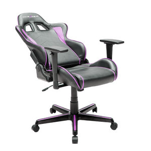 DXRacer OH/FH08/NP Black/Purple Formula Series Gaming Chair - Racer Gaming Chairs