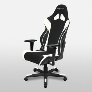 DXRacer OH/RW106/NW Black/White Racing Series Gaming Chair - Racer Gaming Chairs
