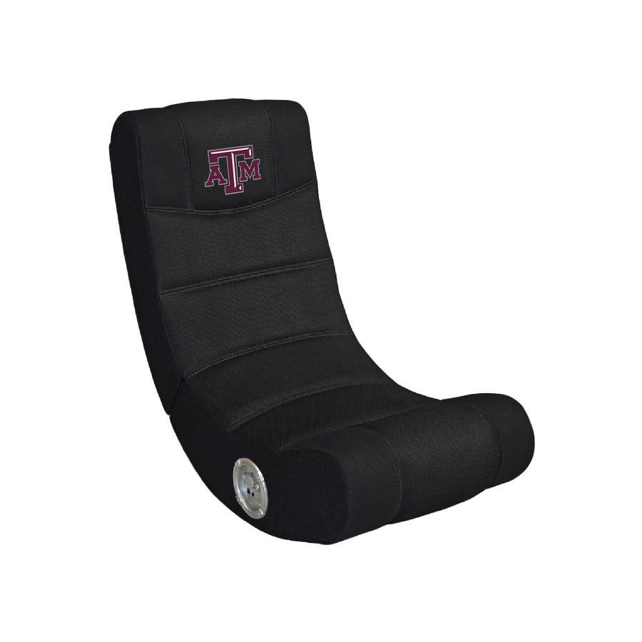 Texas A&M University Bluetooth Rocker Gaming Chair - Racer Gaming Chairs