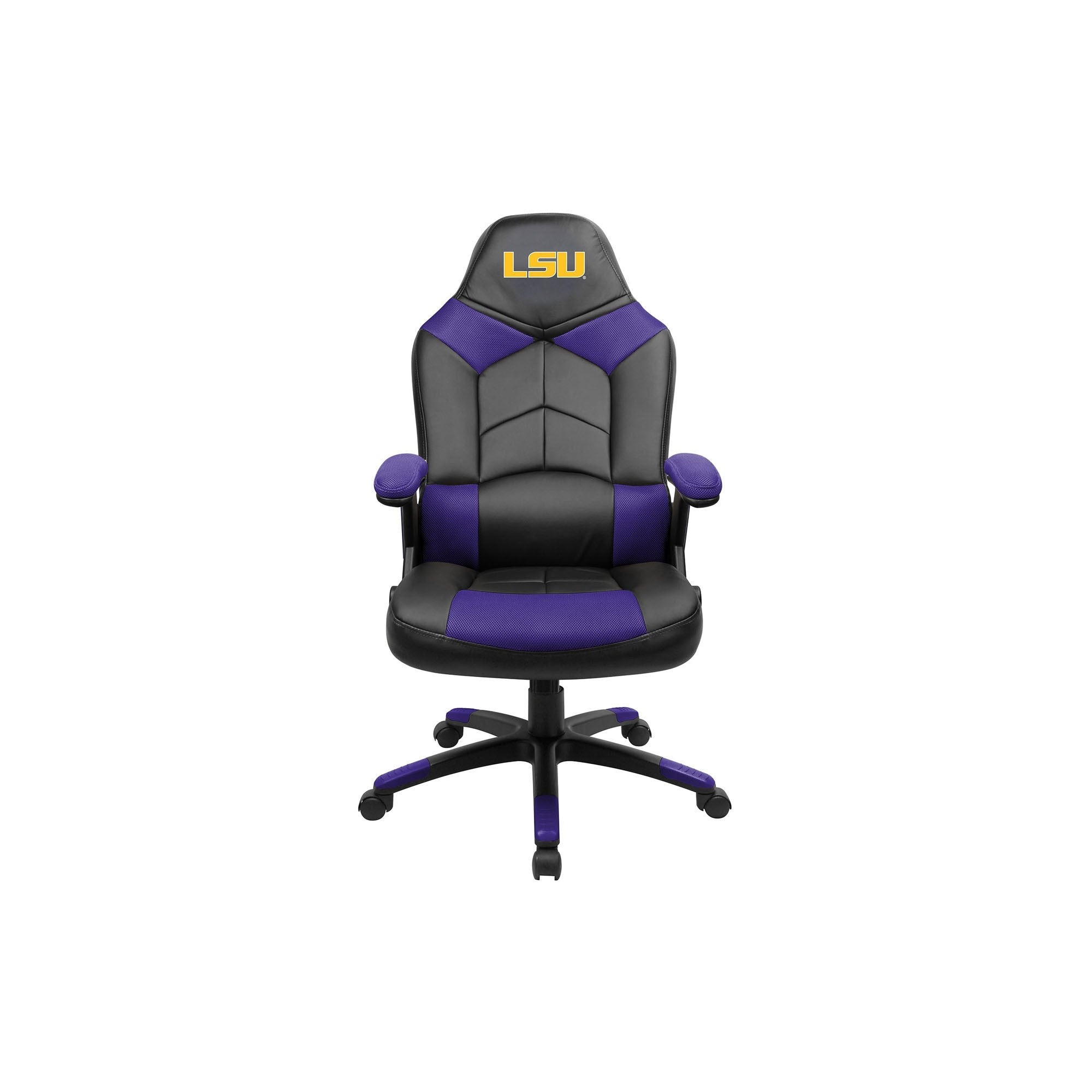 Louisiana State University Oversized Licensed Gaming Chair   Racer Gaming  Chairs