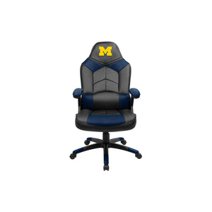 University of Michigan Oversized Licensed Gaming Chair - Racer Gaming Chairs