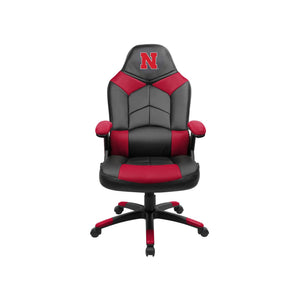 University of Nebraska Oversized Licensed Gaming Chair - Racer Gaming Chairs