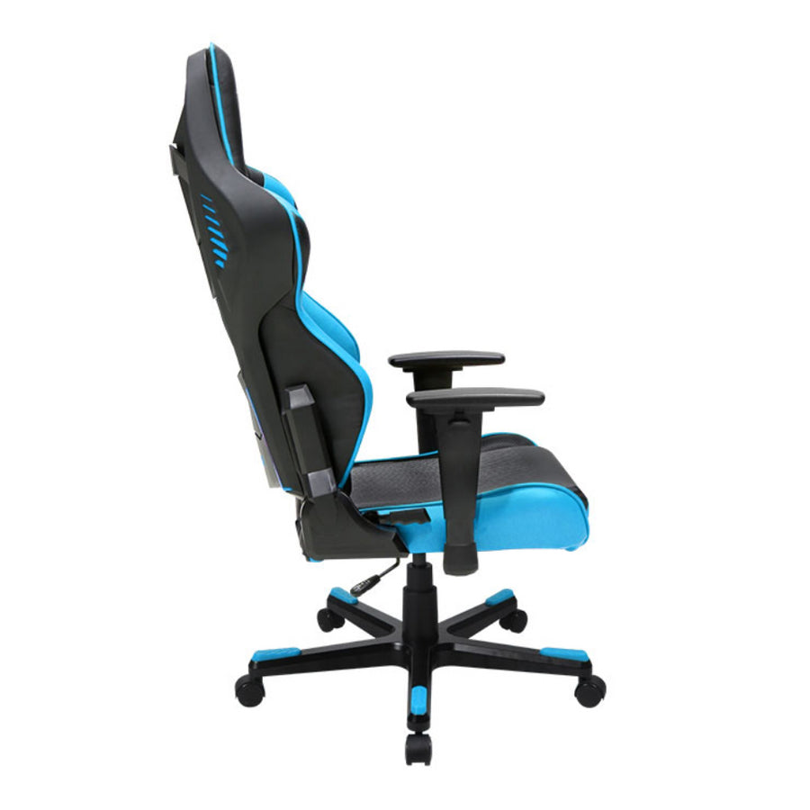 DXRacer OH/RB1/NB Black/Blue Racing Series Gaming Chair - Racer Gaming Chairs