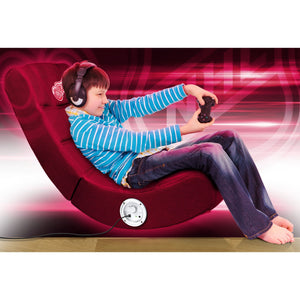Detroit Red Wings Bluetooth Rocker Gaming Chair - Racer Gaming Chairs