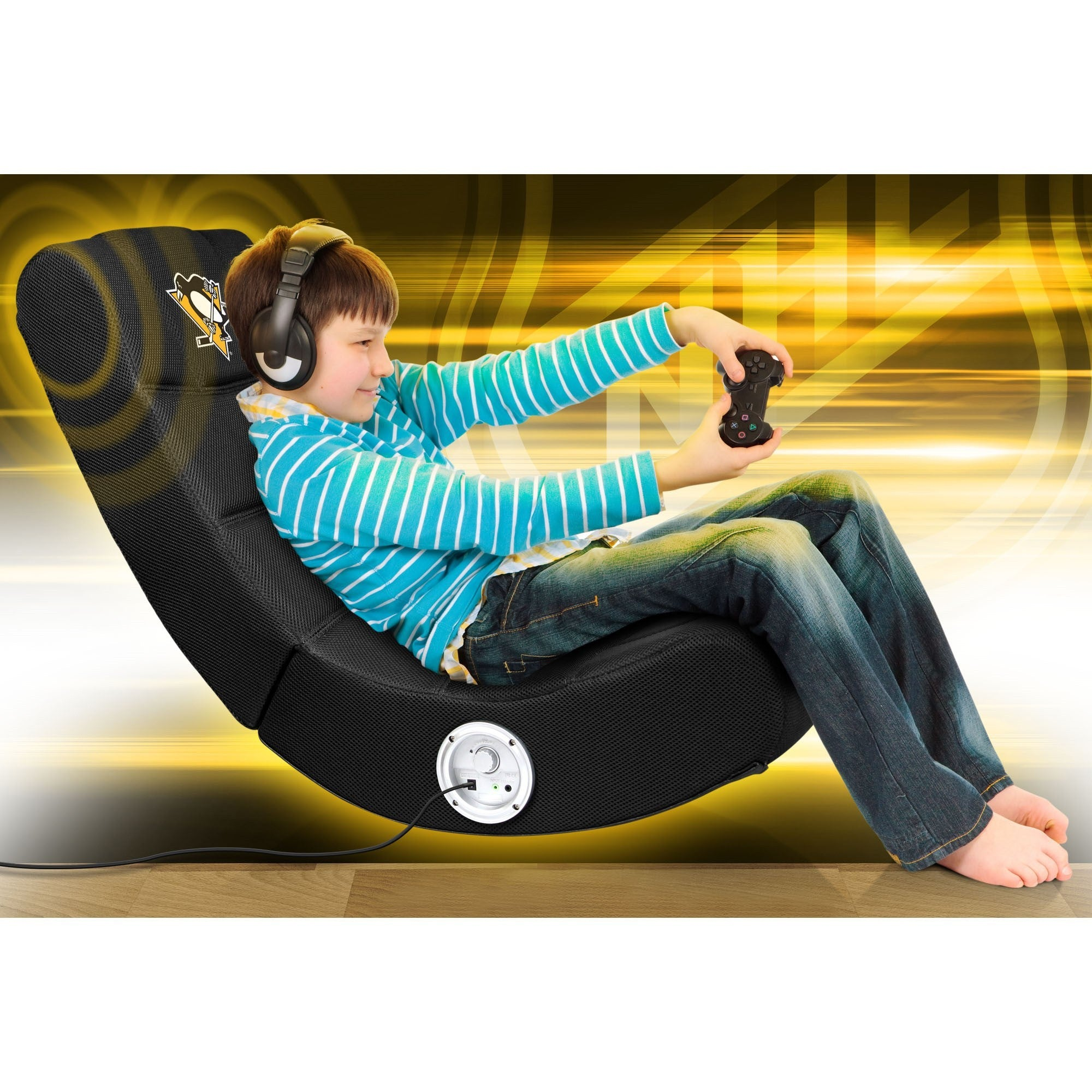 sc 1 st  Racer Gaming Chairs & Pittsburgh Penguins® Bluetooth Rocker Gaming Chair - Racer Gaming Chairs