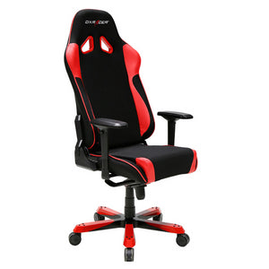 DXRacer OH/SJ11/NR Black/Red Sentinel Series Gaming Chair - Racer Gaming Chairs