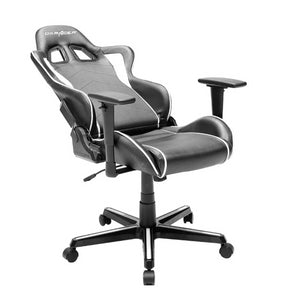 DXRacer OH/FH08/NW Black/White Formula Series Gaming Chair - Racer Gaming Chairs