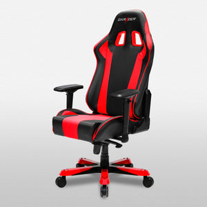 DXRacer OH/KS06/NR Black/Red King Series Gaming Chair - Racer Gaming Chairs