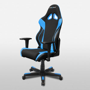 DXRacer OH/RW106/NB Black/Blue Racing Series Gaming Chair - Racer Gaming Chairs