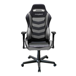 DXRacer OH/DM166/NG Black/Gray Drifting Series Gaming Chair - Racer Gaming Chairs