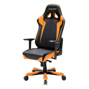 DXRacer OH/SJ00/NO Black/Orange Sentinel Series Gaming Chair - Racer Gaming Chairs