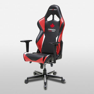 DXRacer OH/RH16/NRW Black/Red/White Racing Series Gaming Chair - Racer Gaming Chairs