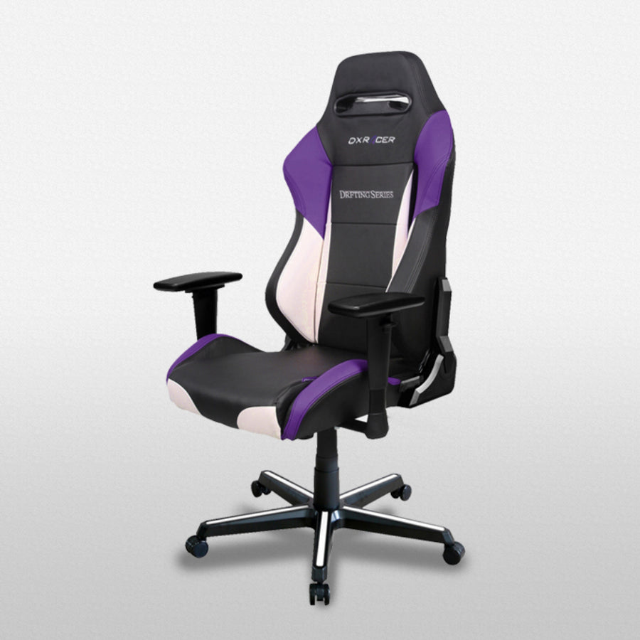 DXRacer OH/DM61/NWV Black/Violet Drifting Series Gaming Chair - Racer Gaming Chairs