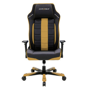 DXRacer OH/BF120/NC Black/Caramel Boss Series Gaming Chair - Racer Gaming Chairs