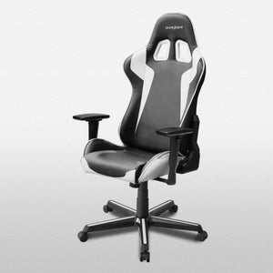 DXRacer OH/FH00/NW Black/White Formula Series Gaming Chair - Racer Gaming Chairs