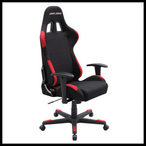 DXRacer OH/FD01/NR Black/Red Formula Series Gaming Chair - Racer Gaming Chairs