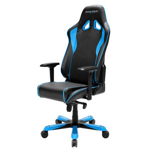 DXRacer OH/SJ08/NB Black/Blue Sentinel Series Gaming Chair - Racer Gaming Chairs