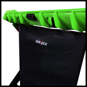DXRacer GD/1000/NE Black/Green Gaming Desk - Racer Gaming Chairs