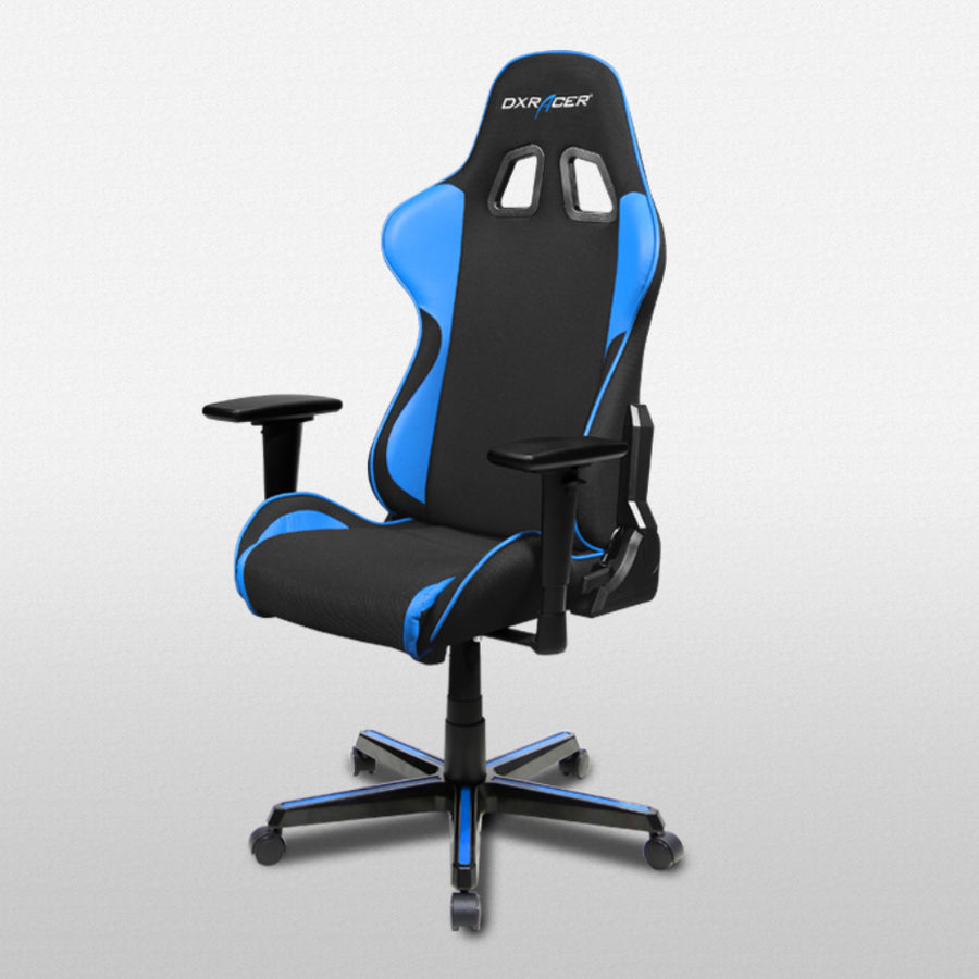 DXRacer OH/FH11/NB Black/Blue Formula Series Gaming Chair - Racer Gaming Chairs