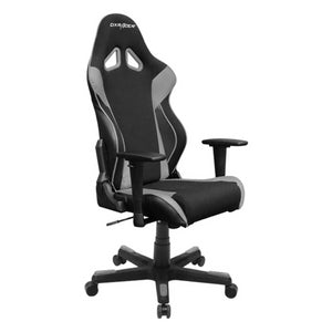 DXRacer OH/RW106/NG Black/Gray Racing Series Gaming Chair - Racer Gaming Chairs