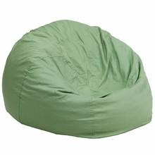 Gavin Green Oversized Gaming Bean Bag Chair - Racer Gaming Chairs