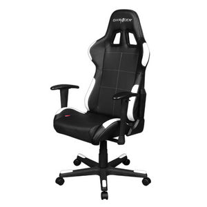 DXRacer OH/FD99/NW Black/White Formula Series Gaming Chair - Racer Gaming Chairs