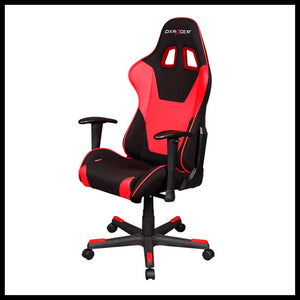 DXRacer OH/FD101/NR Black/Red Formula Series Gaming Chair - Racer Gaming Chairs