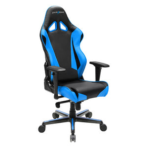 DXRacer OH/RV001/NB Black/Blue Racing Series Gaming Chair - Racer Gaming Chairs