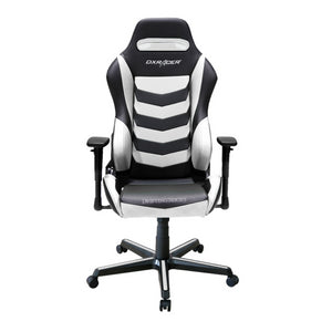 DXRacer OH/DM166/NW Black/White Drifting Series Gaming Chair - Racer Gaming Chairs