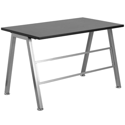 Iris Black Aluminum Gaming Office Desk