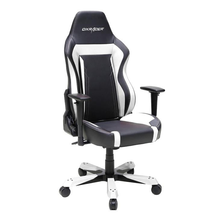 DXRacer OH/WZ06/NW Black/White Work Series Gaming Chair - Racer Gaming Chairs