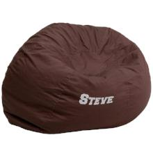 Personalized Large Overstuffed Gaming Bean Bag Chair   Racer Gaming Chairs