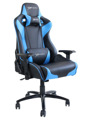 EWin FLF-XL Flash XL Size Gaming Office Chair with Pillows - Racer Gaming Chairs