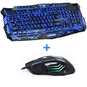 Hyper Gaming Keyboard and Dragon Mouse Combo - Racer Gaming Chairs