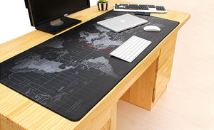 World Map Large Mouse Pad - Racer Gaming Chairs