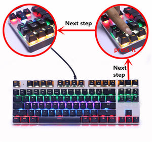 Mechanical Gaming Keyboard - Racer Gaming Chairs