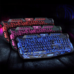 Hyper Gaming Keyboard and Mouse Combo - Racer Gaming Chairs
