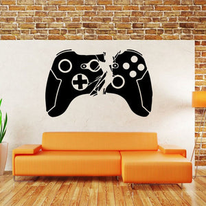 Gamer Wall Decal - Racer Gaming Chairs