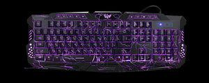Hyper Backlit Gaming Keyboard - Racer Gaming Chairs