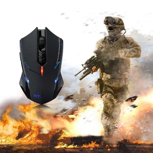Warzone Wireless Gaming Mouse - Racer Gaming Chairs