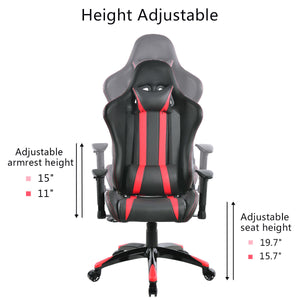 Cypher Red Racing Gaming Chair - Racer Gaming Chairs