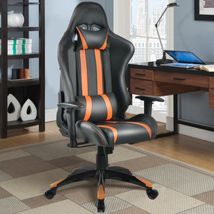 Cypher Orange Racing Gaming Chair - Racer Gaming Chairs