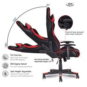 Flame Racing Gaming Chair - Racer Gaming Chairs