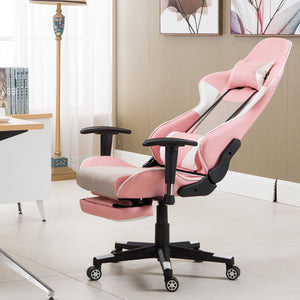Elixir Pink Racing Gaming Chair - Racer Gaming Chairs
