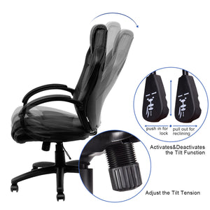 Midnight Racing Cheap Gaming Chair - Racer Gaming Chairs