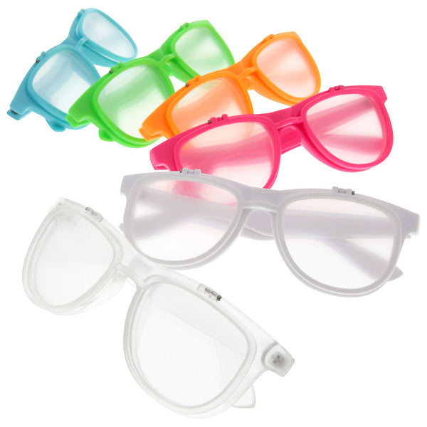 Prism Diffraction Flip Up Fireworks Glasses - grinderPUNCH