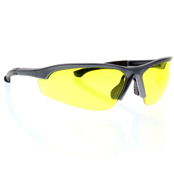 Safety Glasses Yellow Clear Lens Z87+ Protection Sunglasses ANSI Eyewear - grinderPUNCH